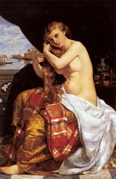 oil Works - Jules Venitienne A Sa Toilette Neoclassicism Jacques Louis David